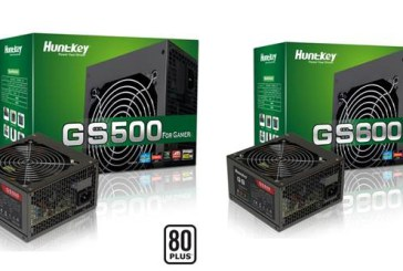 Huntkey GS500 & GS600 PSUs Now 80 PLUS Certified