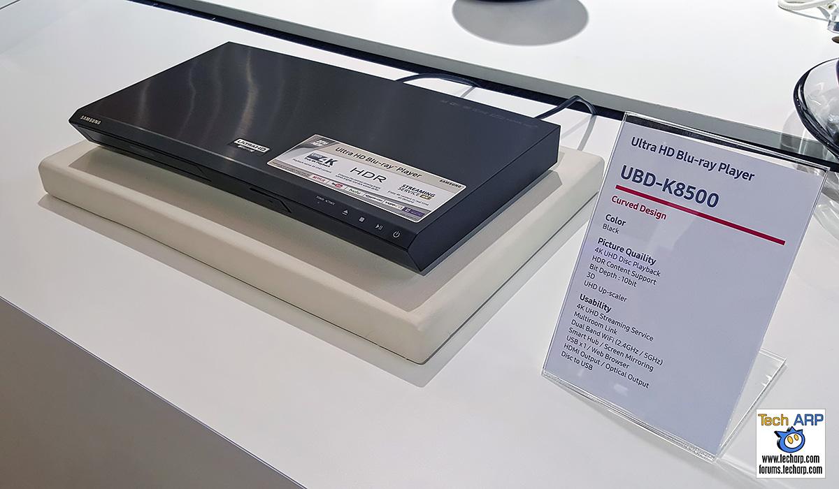 Samsung K8500 4K UHD Blu-ray Player Revealed   Tech ARP