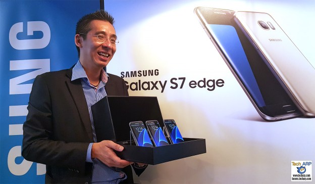 Samsung Galaxy S7 edge Smartphone Revealed