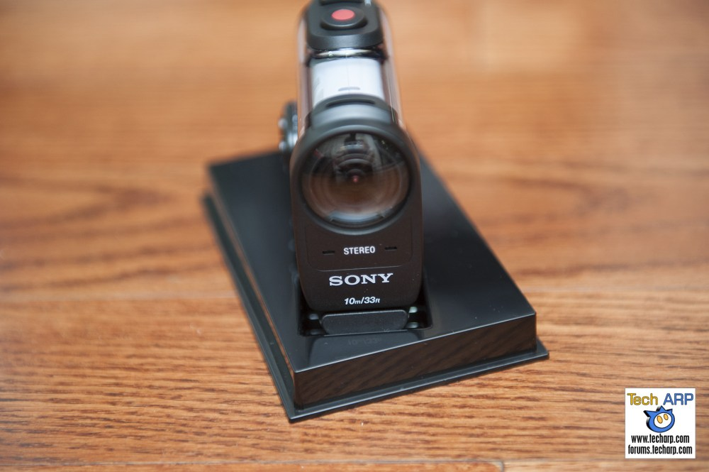 Sony FDR-X1000V Action Camera Front Shot