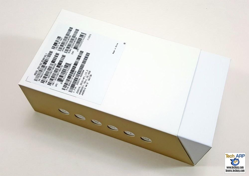 ASUS ZenFone 2 Laser (ZE601KL) Box