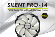 GELID Silent Pro-14 PWM Case Fan Launched