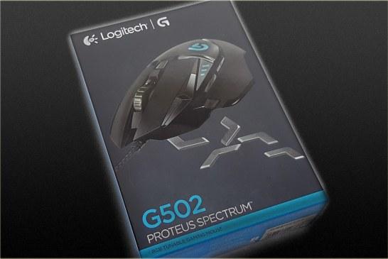 Logitech G502 Proteus Spectrum Gaming Mouse Review