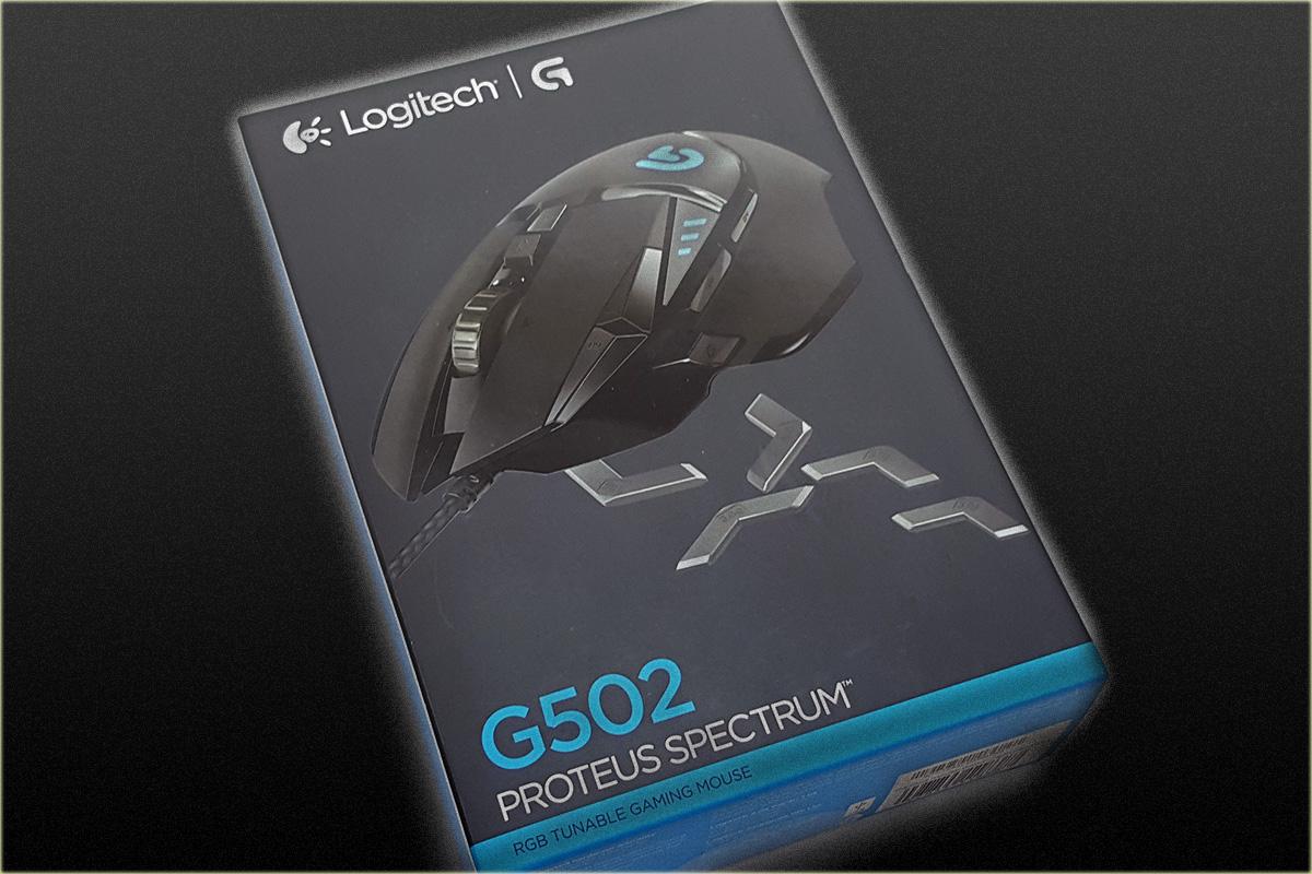 The Logitech G502 Proteus Spectrum Gaming Mouse Review