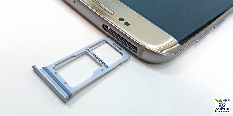 Samsung Galaxy S7 edge SIM card slot