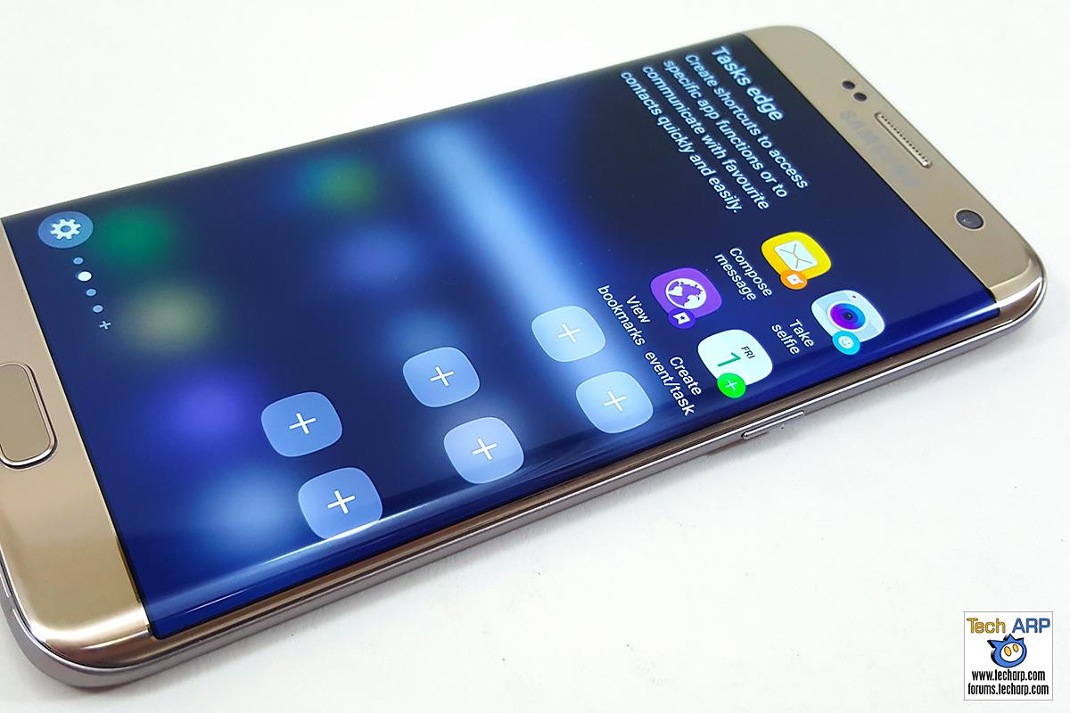 Samsung Galaxy S7 edge Edge Screen