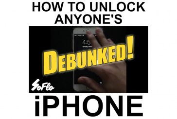 SoFlo iPhone Unlocking Hoax Debunked