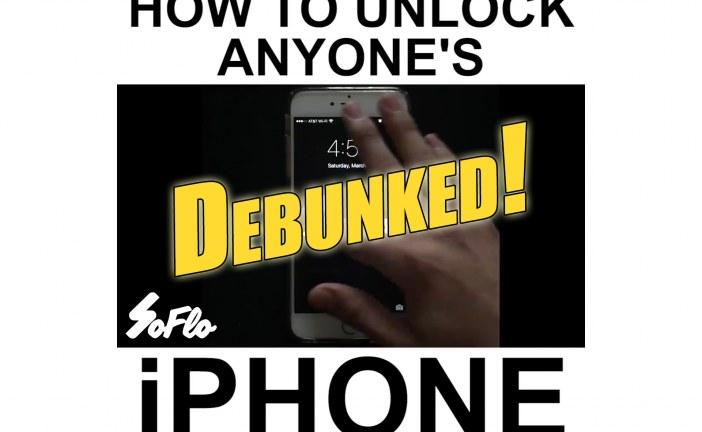 SoFlo iPhone Unlocking Hoax Debunked