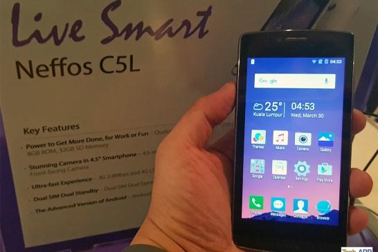 Neffos C5L Smartphone
