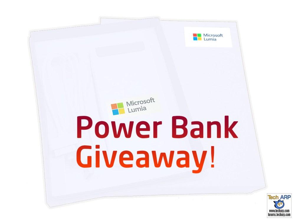 Tech ARP 2016 Power Bank Giveaway! #1