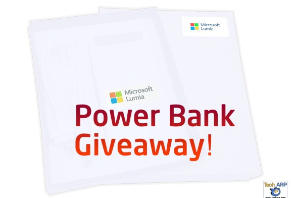 Tech ARP 2016 Power Bank Giveaway #1 (Results)