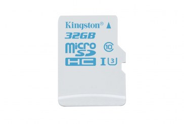 Kingston microSD Action Camera Card Released
