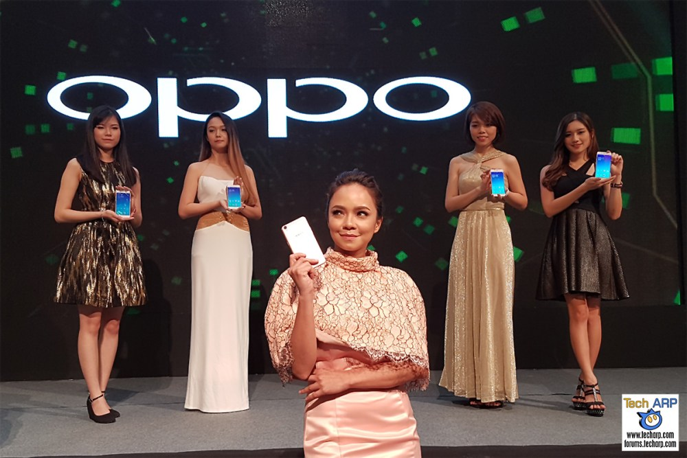 OPPO F1 Plus Launch With Nora Danish