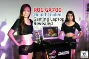 ROG GX700 Liquid-Cooled Gaming Laptop Revealed!