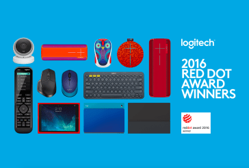 Logitech Won Nine 2016 Red Dot Awards