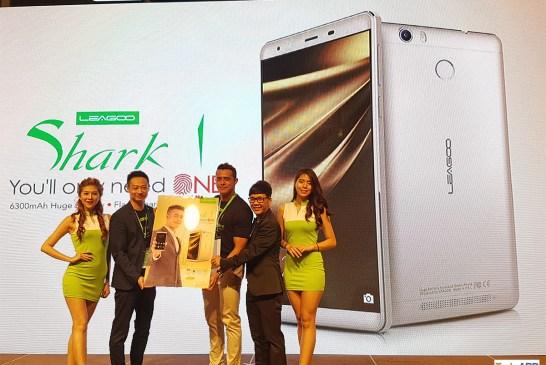 LEAGOO Shark 1 Smartphone Launched