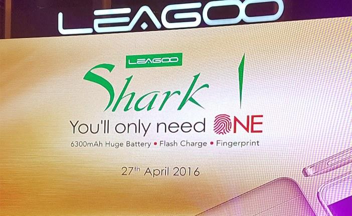 LEAGOO Shark 1 Launched With Massive 6,300 mAh Battery