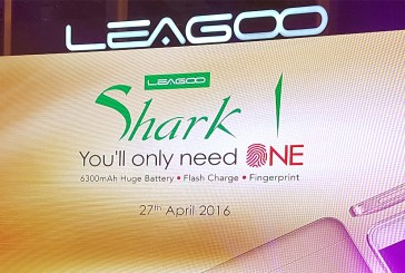 LEAGOO Shark 1 Launched With Massive 6,300 mAh Battery
