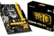 BIOSTAR H110MD PRO D4 Motherboard Launched