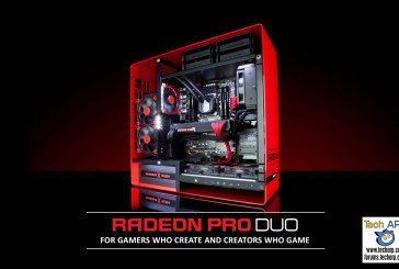 AMD Radeon Pro Duo Featuring LiquidVR Launched