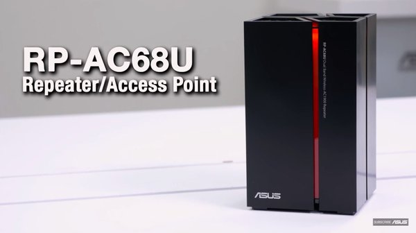 ASUS RP-AC68U Dual-Band WiFi Repeater Launched