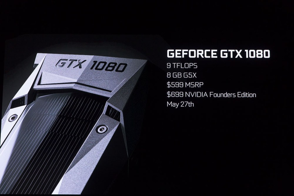 NVIDIA GeForce GTX 1080 Launched