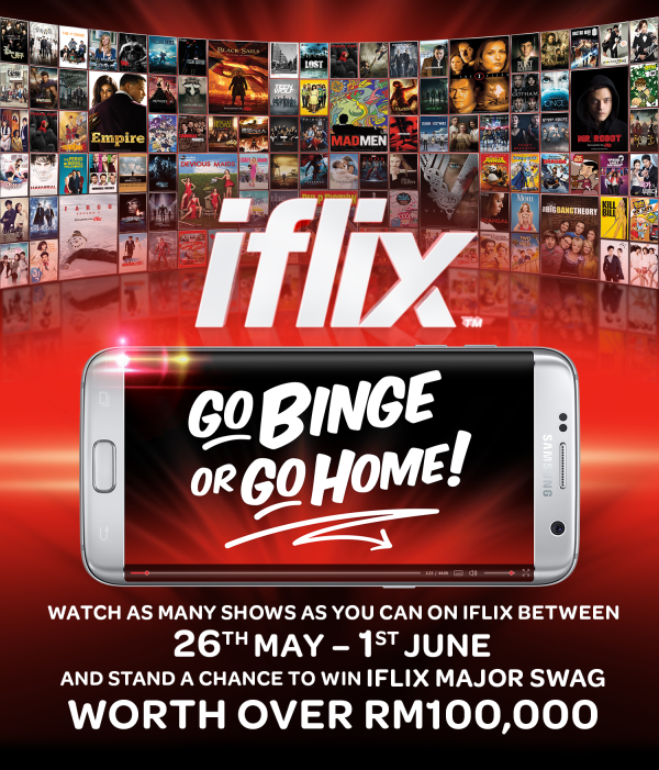 Go binge or go home iflix contest