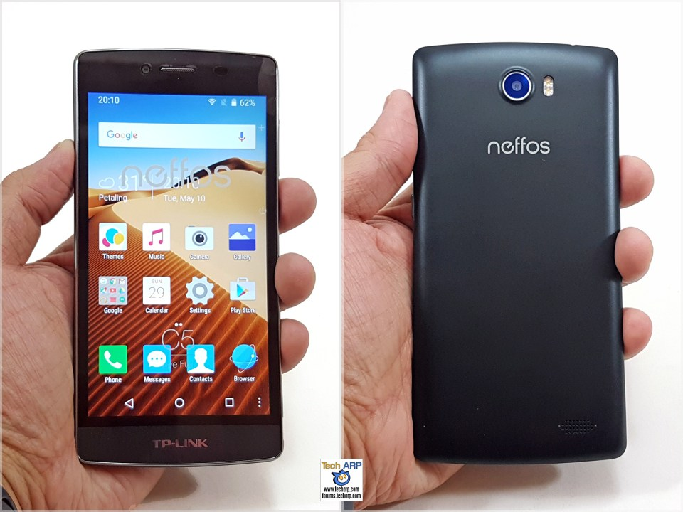 TP-LINK Neffos C5 in hand