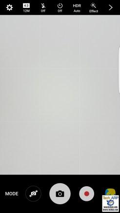 Samsung Galaxy S7 camera options