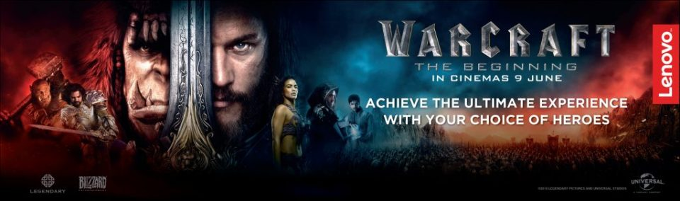 Lenovo Fans The First To Watch Warcraft Movie
