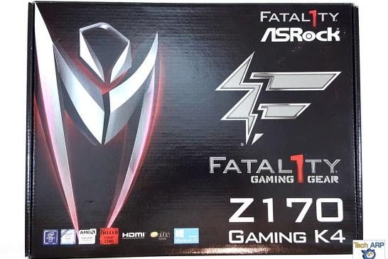 ASRock Fatal1ty Z170 Gaming K4 box