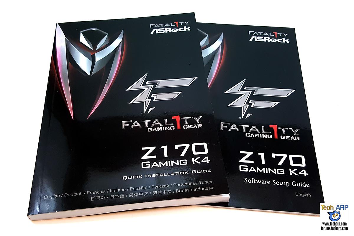 ASRock Fatal1ty Z170 Gaming K4 manuals