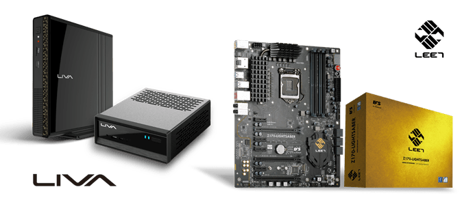 ECS launches Z170-LIGHTSABER & LIVA mini PC @ 2016 Computex