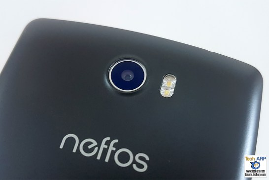 neffos C5 camera - rear