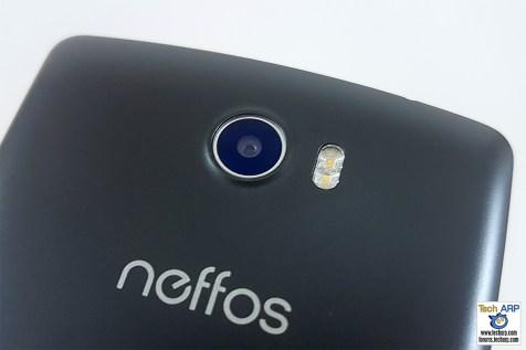neffos C5 camera - rear