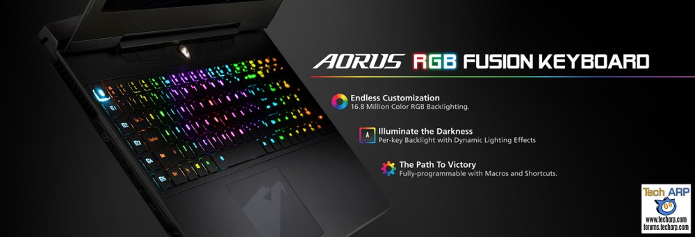 AORUS Computex 2016 Tech Overview - AORUS RGB Fusion Keyboard