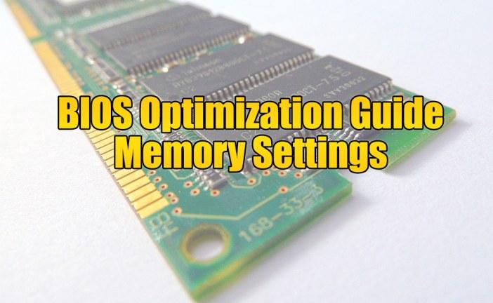 Fast R-W Turn Around – BIOS Optimization Guide