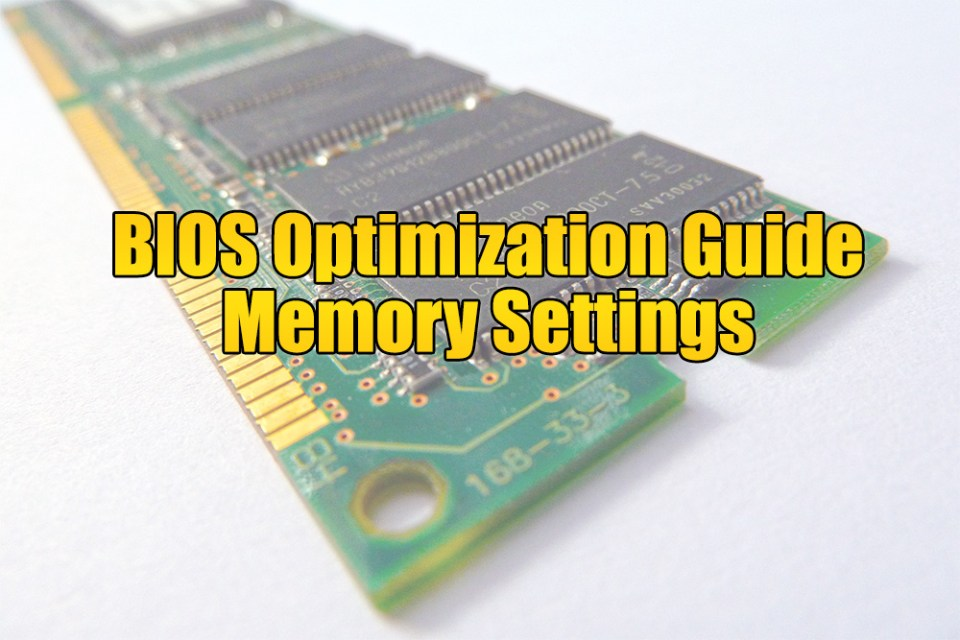 Fast R-W Turn Around - BIOS Optimization Guide