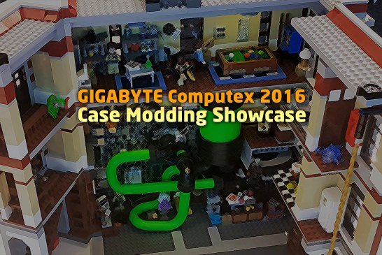 GIGABYTE Case Mod Showcase At Computex 2016