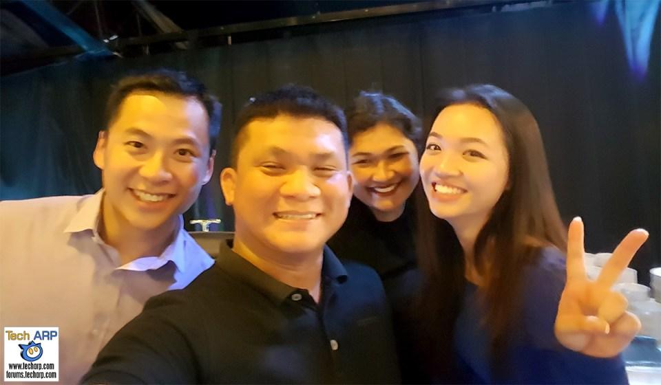 2016 Galaxy J Series Smartphones Launch - Jacob Yeoh (Deputy CEO, YTL Communications), Adrian Wong (Tech ARP), Livan Bai (Priority Communications), Soo Yi (Samsung Malaysia)