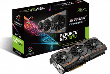 ROG Strix GeForce GTX 1070 Now Available