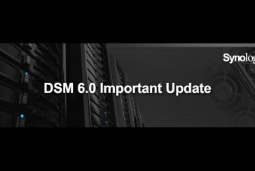 Synology DSM 6.0.1-7393 Update Now Available