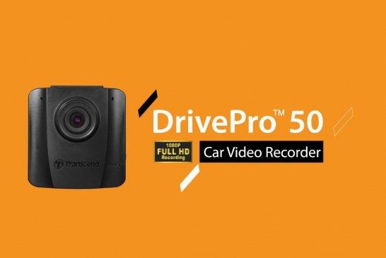 Transcend DrivePro 50 Car Video Recorder Released