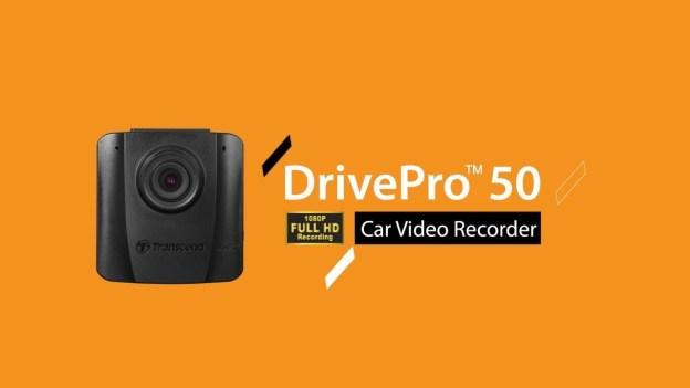 Trancend DrivePro 50 Car Video Recorder Introduced