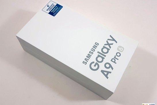 Samsung Galaxy A9 Pro box