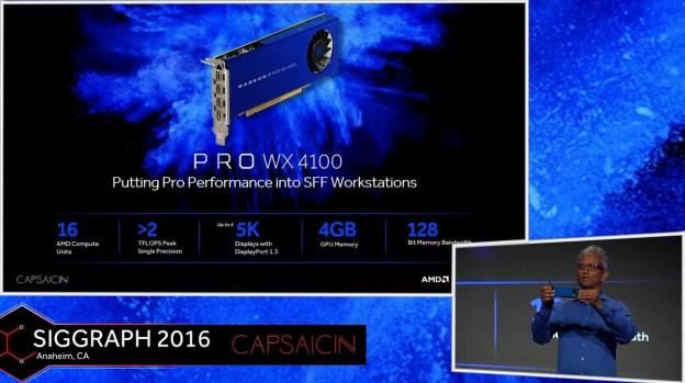 Radeon Pro WX & Radeon Solid State Graphics Technology