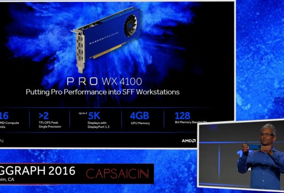 AMD Radeon Pro WX & Radeon Solid State Graphics Launched!