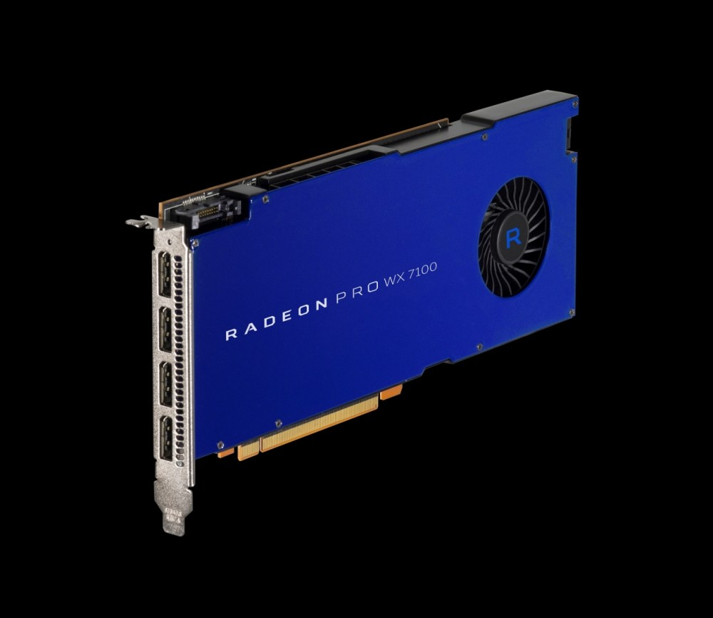 Radeon Pro WX & Radeon Solid State Graphics Technology