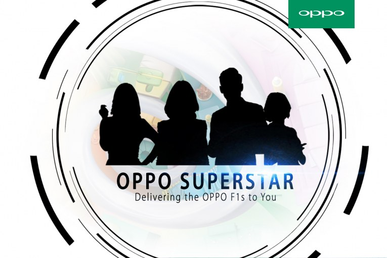 Pre-order OPPO F1s For OPPO Superstar Delivery