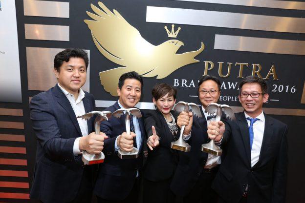 Samsung Won Putra Brand Awards 2016